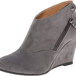 NEW CL by Chinese Laundry Wedge Bootie -Size 8-